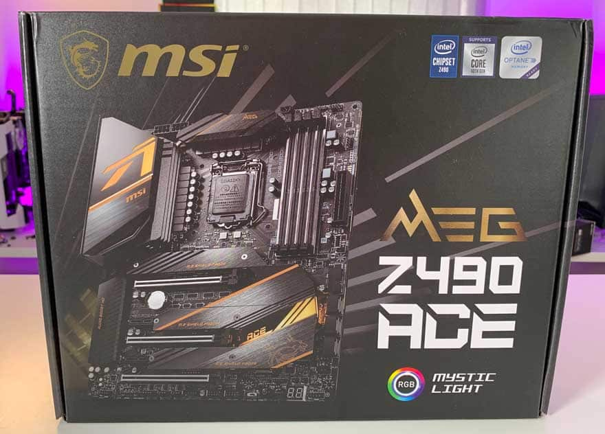 MSI MEG Z490 ACE Motherboard Review
