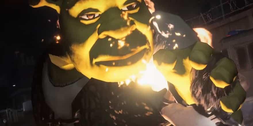 resident evil 3 re3 nemesis shrek mod