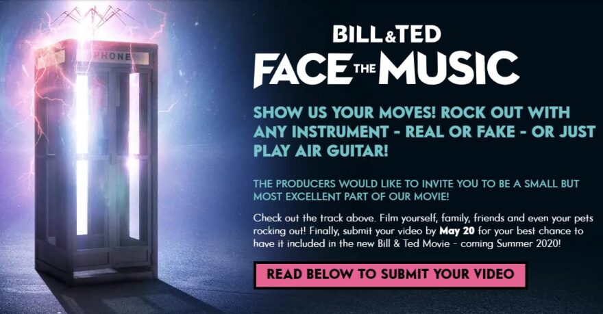 bill and tedd face the music film
