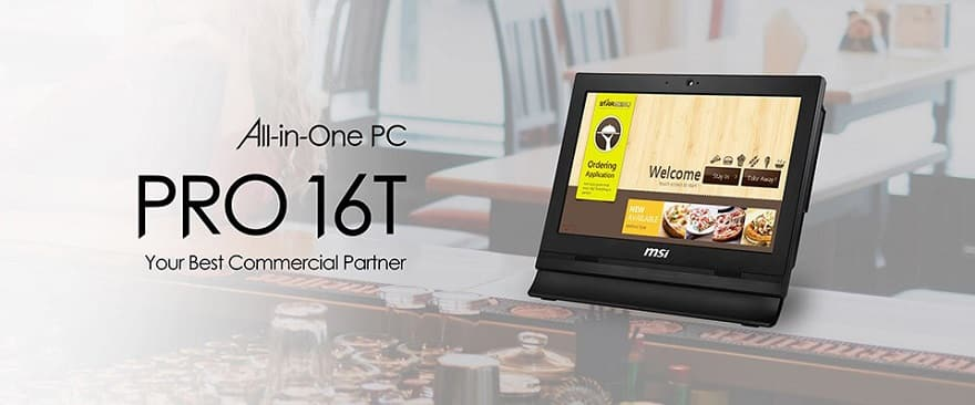 msi PRO 24X 10M & PRO 16T 10M All-In-One PCs