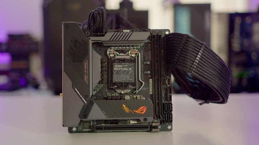 ASUS ROG STRIX-I Gaming Z490 Motherboard