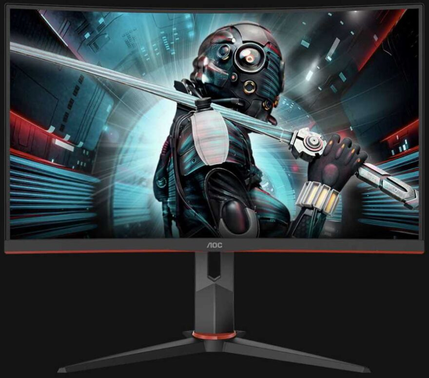 "AOC CQ27G2U 27"" 144Hz Curved Gaming Monitor Review"