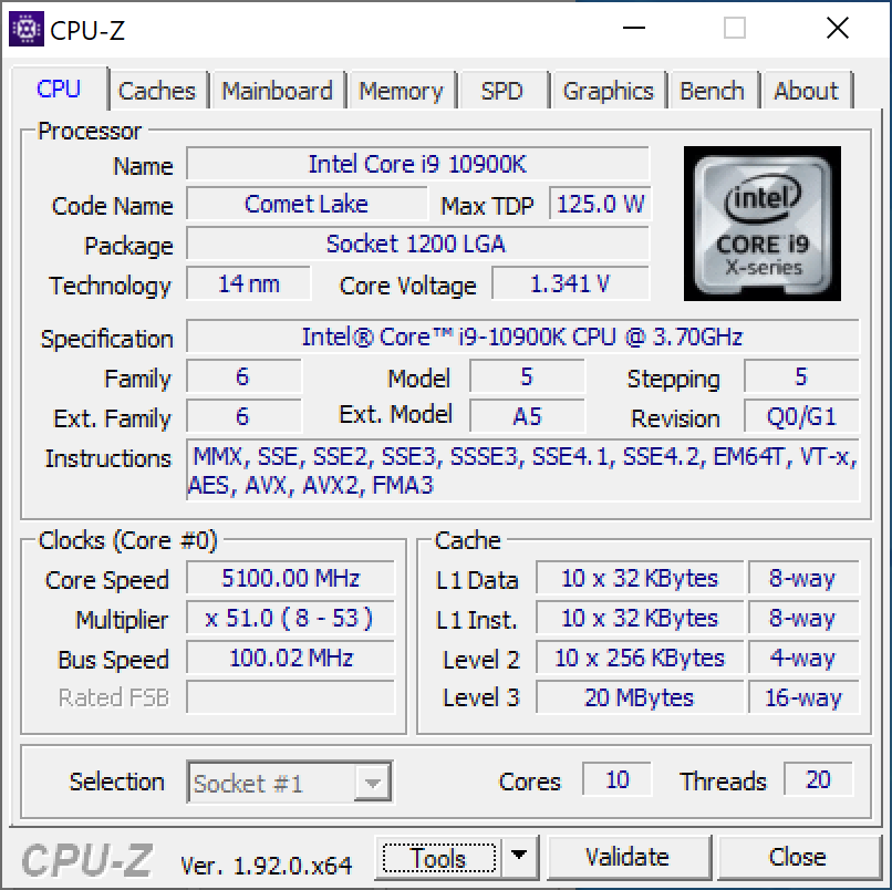 ASUS ROG Maximus XII Hero Wi Fi 1.35v