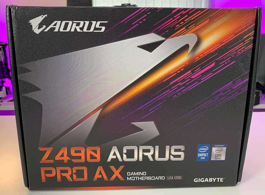 Gigabyte Z490 AORUS Pro AX Gaming Motherboard 1