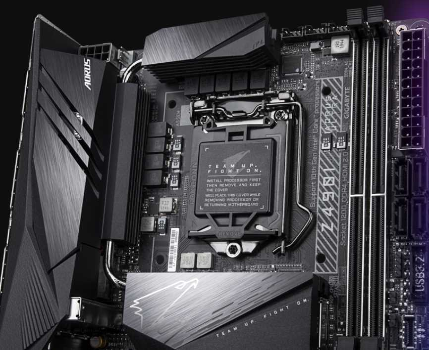 Gigabyte Z490I AORUS Ultra Motherboard Review