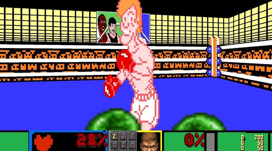 doom punch-out punchout