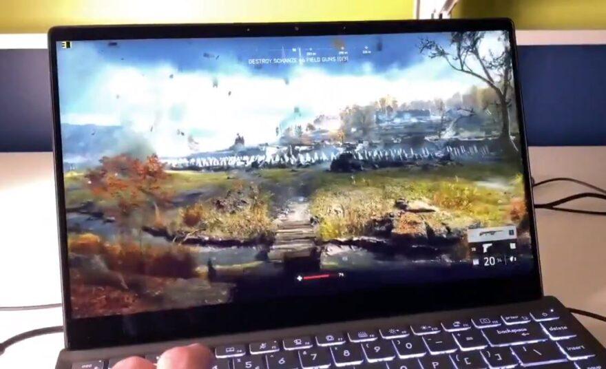 intel tiger-lake Xe laptop