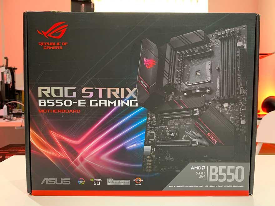 ASUS B550 E Gaming 1