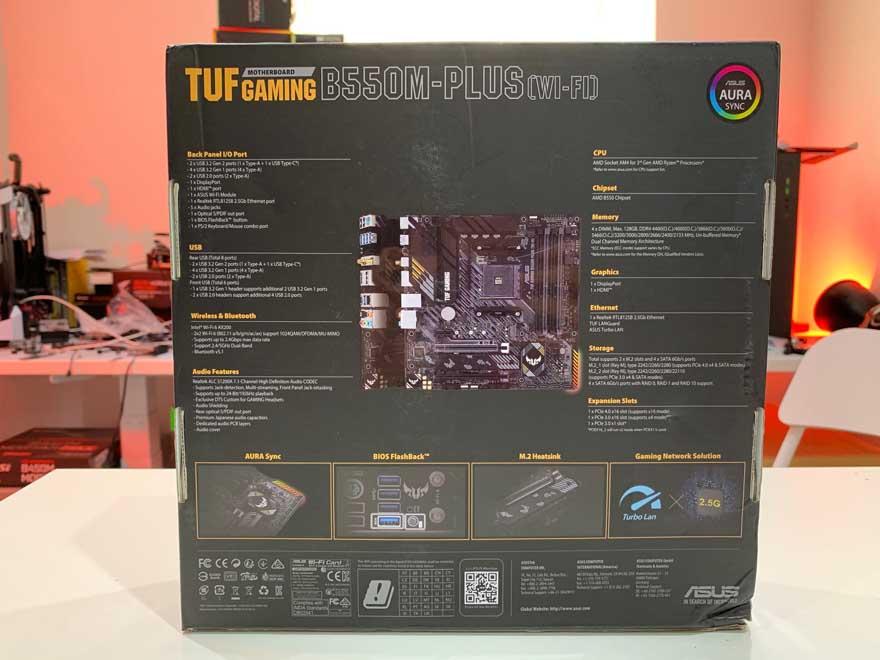 ASUS B550 TUF Gaming 2