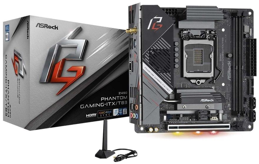 ASRock Z490 Phantom Gaming-ITX/TB3 Motherboard Review