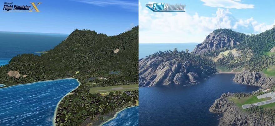 Flight Simulator X vs Flight Simulator 2020 Comparison Video Released