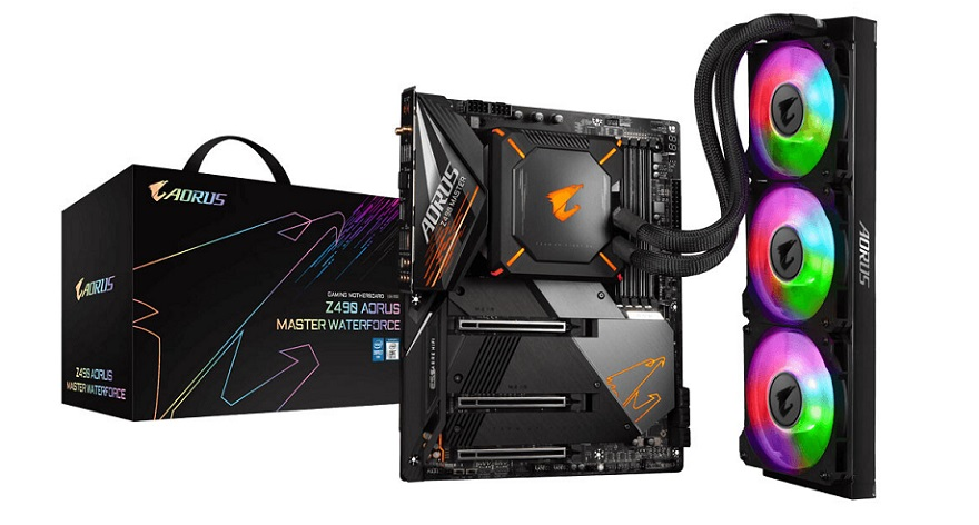 gigabyte Z490 AORUS Master WaterForce Motherboard