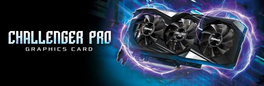 ASRock Radeon RX 5700 XT Challenger Pro 8G OC Graphics Card