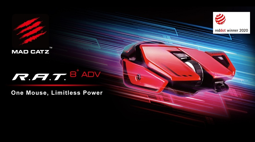 mad catz R.A.T. 8+ ADV High-Performance Gaming Mouse