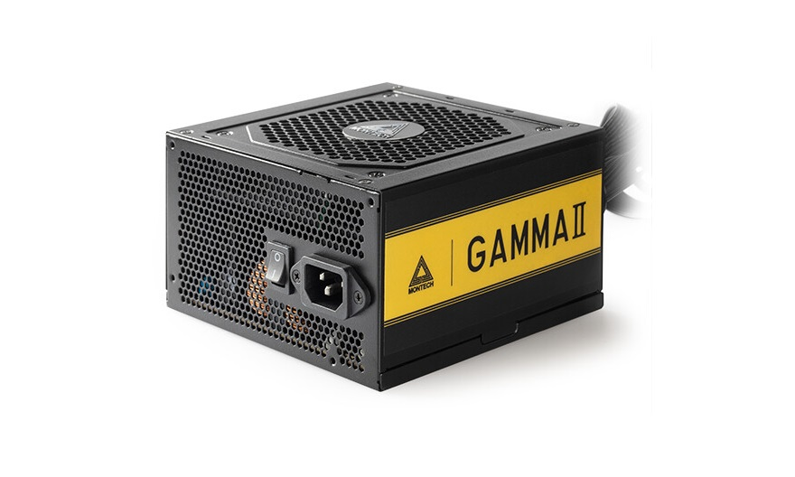 montech Gamma II Series 80 Plus Gold PSUs