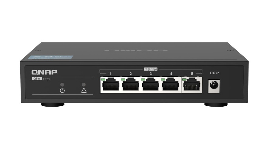 qnap 2.5GbE Network Switch