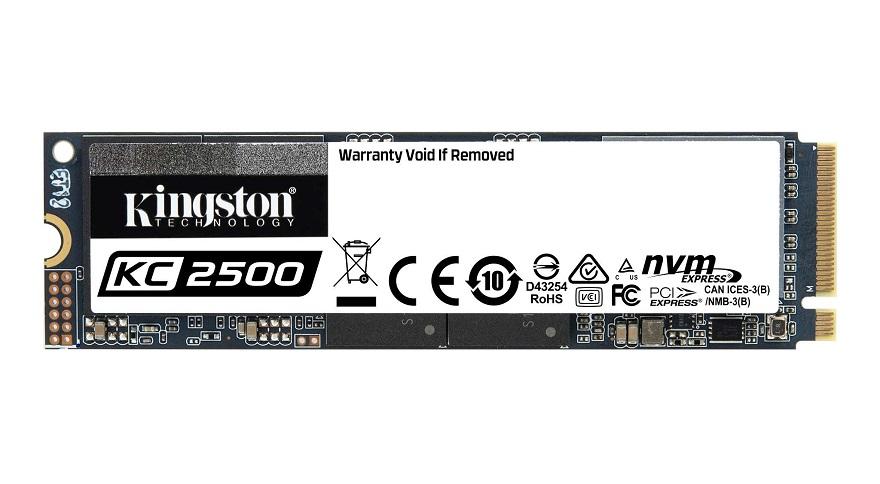 kingston KC2500 NVMe PCIe SSD
