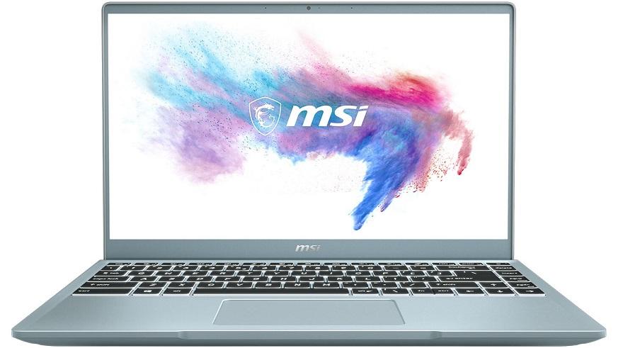 MSI Announces Modern 14 Bluestone Creator Notebooks