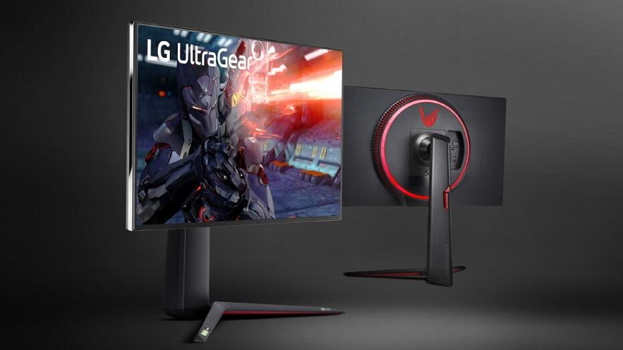LG UltraGear 27GN950 4K UHD Gaming Monitor