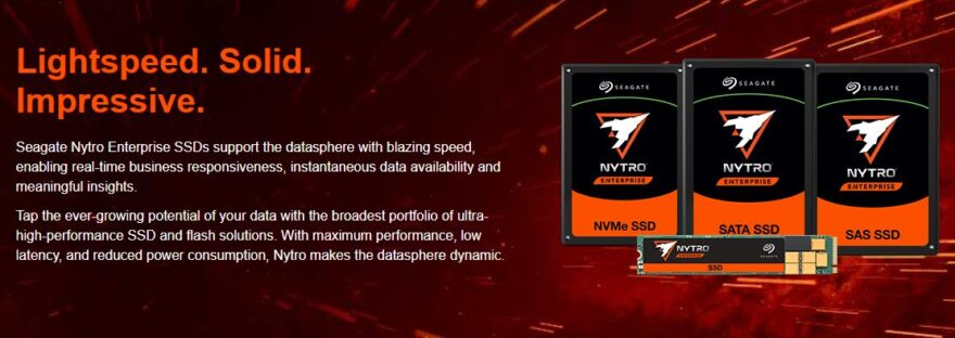 seagate Nytro Enterprise SSD