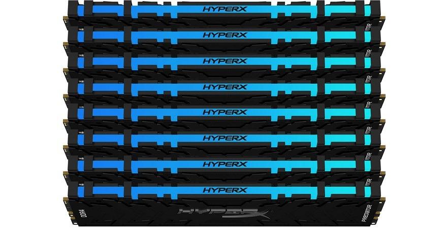 hyperx Predator & FURY DDR4 RGB Memory