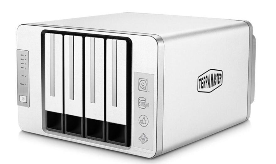 terramaster TerraMaster Launches F4-422 10GbE 4-Bay Professional NAS