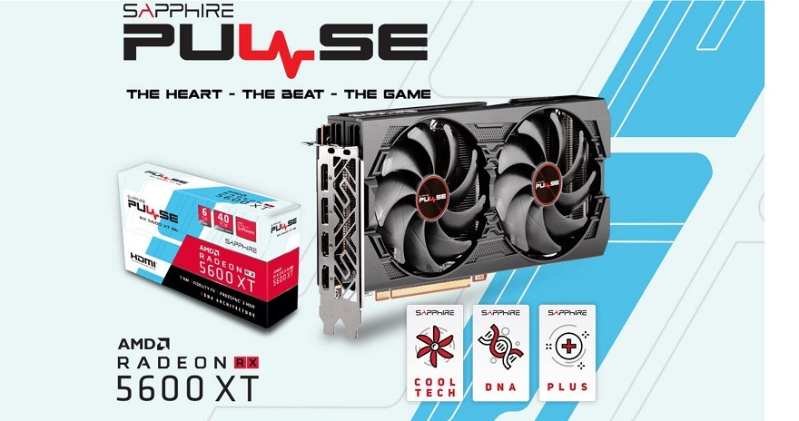 sapphire Radeon RX 5600 XT PULSE BE