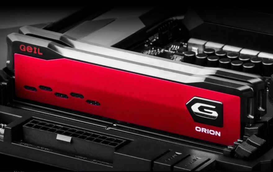 GeIL ORION  3200MHz DDR4 Memory Review
