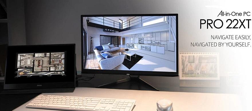 MSi PRO 22XT 10M & MP241 All-in-One Desktop PCs