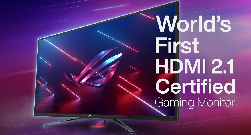 ASUS ROG Launches World's First HDMI 2.1 4K 120Hz Monitor