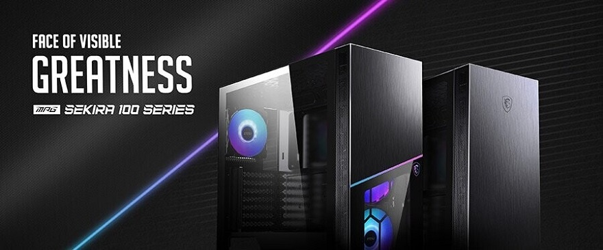 MSI MPG SEKIRA 100 Series Gaming PC Cases