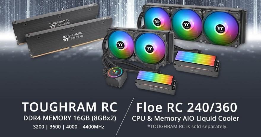 Thermaltake Floe RC360 / RC240 CPU & Memory AIO Liquid Cooler