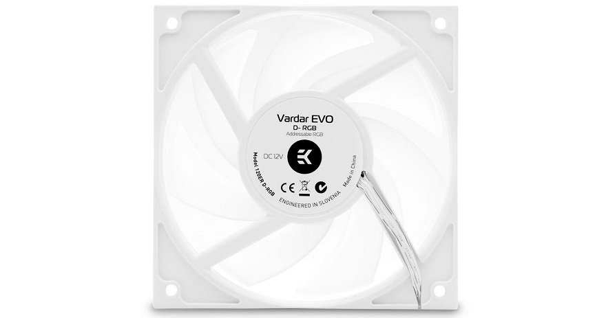 EKWB White Vardar D-RGB Fans