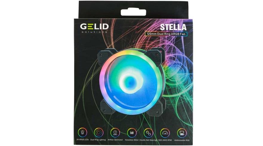 GELID Stella Dual-Ring ARGB Fans