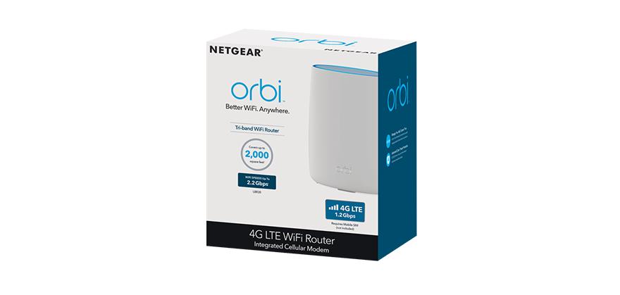 netgear Orbi LBR20 4G LTE + Wi-Fi AC Router