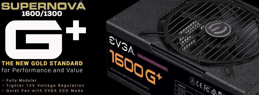 evga SuperNOVA 1600 and 1300 G+ Power Supplies