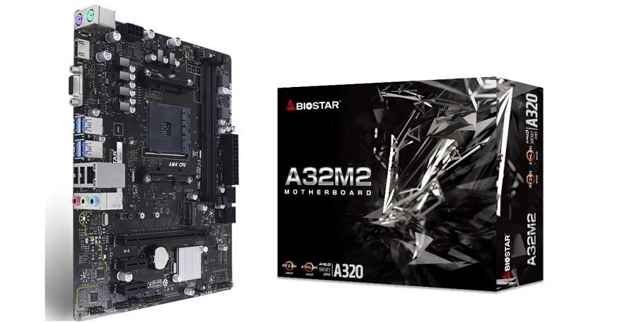 biostar A32M2 (A320) Micro-ATX Motherboard