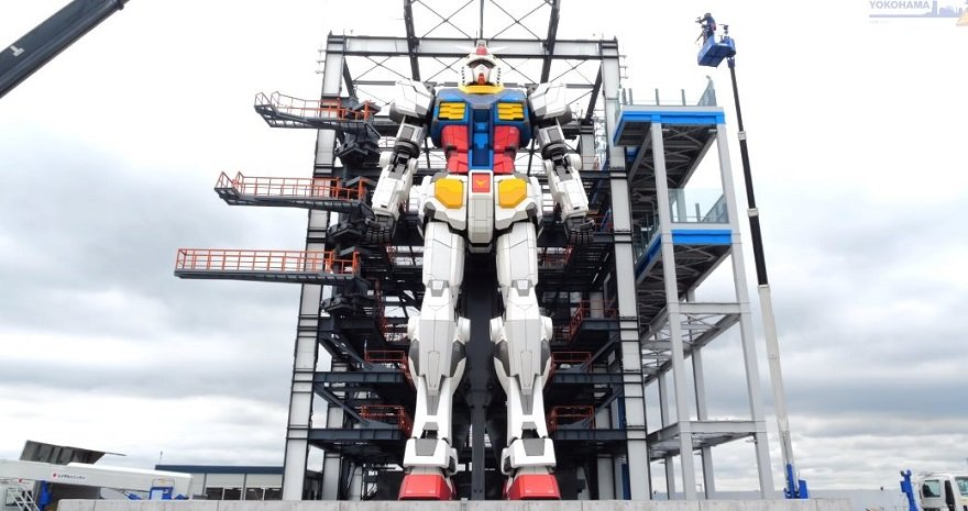japan gundam robot