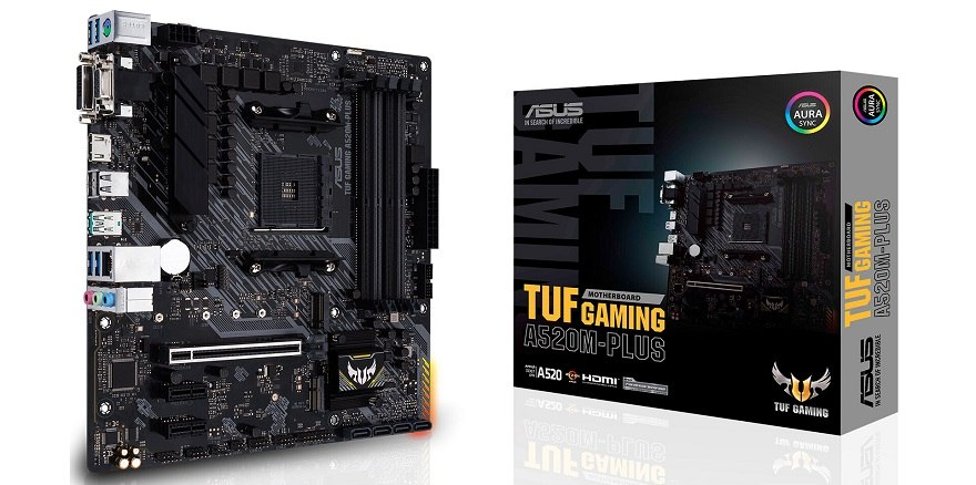 ASUS Launches its A520 Motherboards