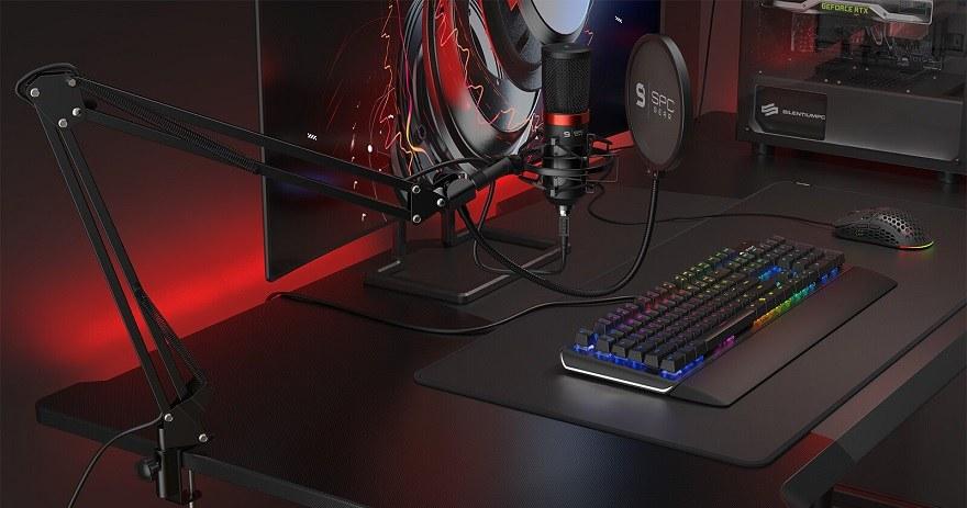 SPC Gear Reveals SM900-Series Microphones