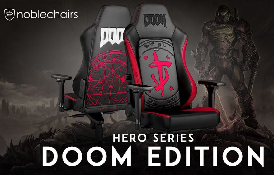 Incredible noblechairs DOOM Edition Now Available!
