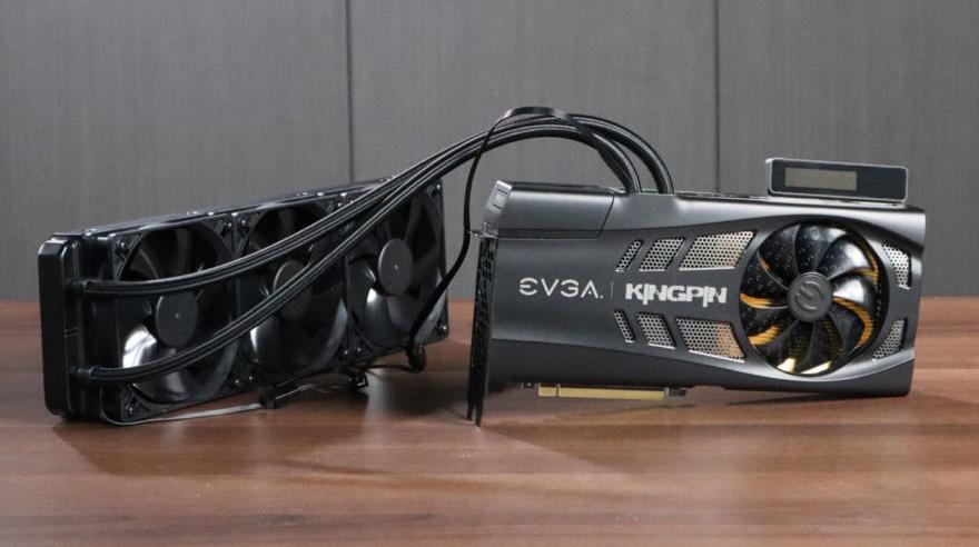 EVGA flagship GeForce RTX 3090 KINGPIN HYBRID