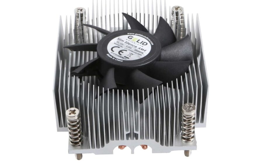 GELID Slim Silence AM4 CPU Cooler