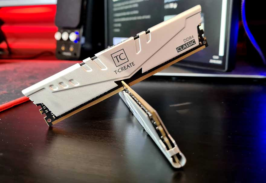 TeamGroup T-CREATE 3200 Mhz DDR4 Memory Review