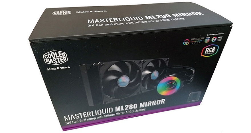 Cooler Master ML280 Mirror AIO CPU Cooler