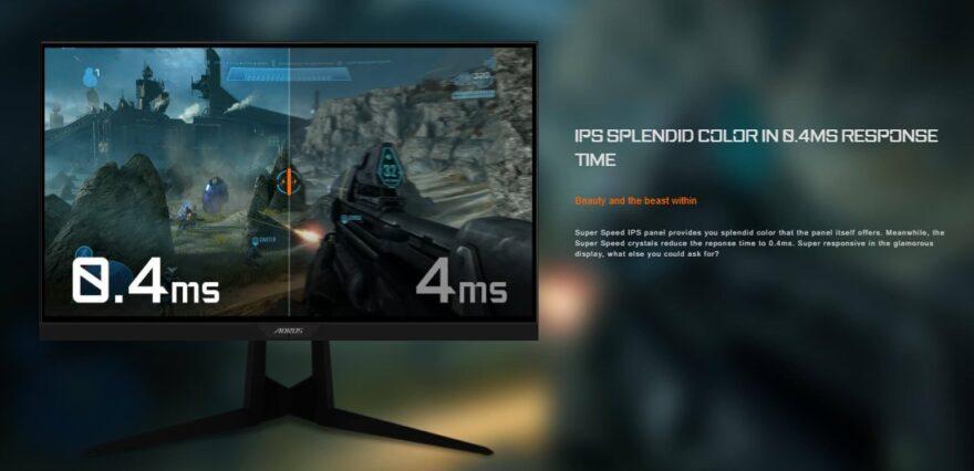 Gigabyte FI25F gaming monitor