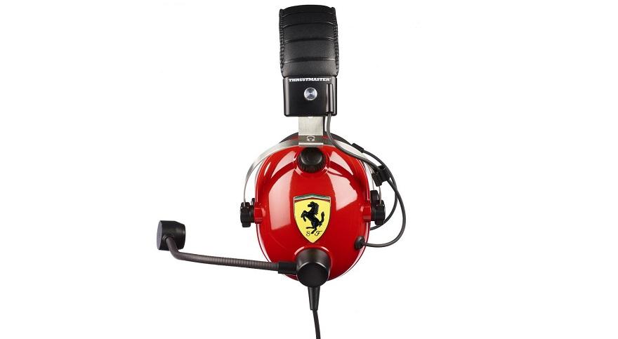 Thrustmaster T.Racing Scuderia Ferrari Edition-DTS Gaming Headset
