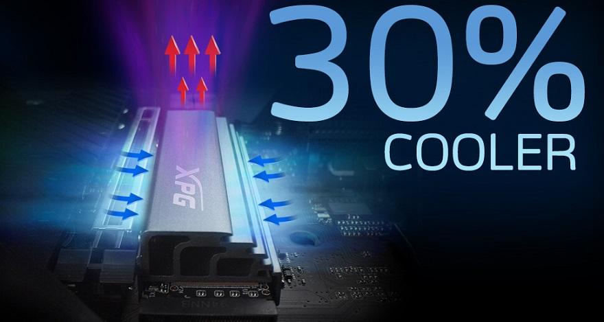 ADATA XPG GAMMIX S70 PCIe Gen4 M.2 2280 SSD