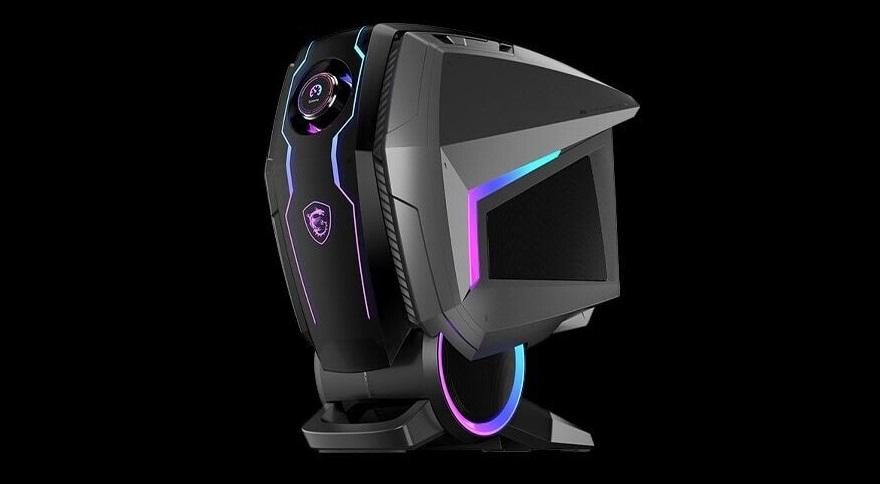 MSI MEG Aegis Ti5 Gaming Desktop featuring NVIDIA Ampere Graphics