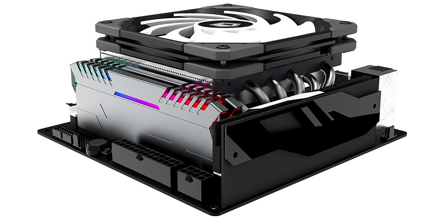 ID-Cooling IS-60 EVO ARGB Low-Profile CPU Cooler